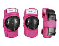 Детский набор экипировки 3 элемента KUGOO Safe Kids Розовый